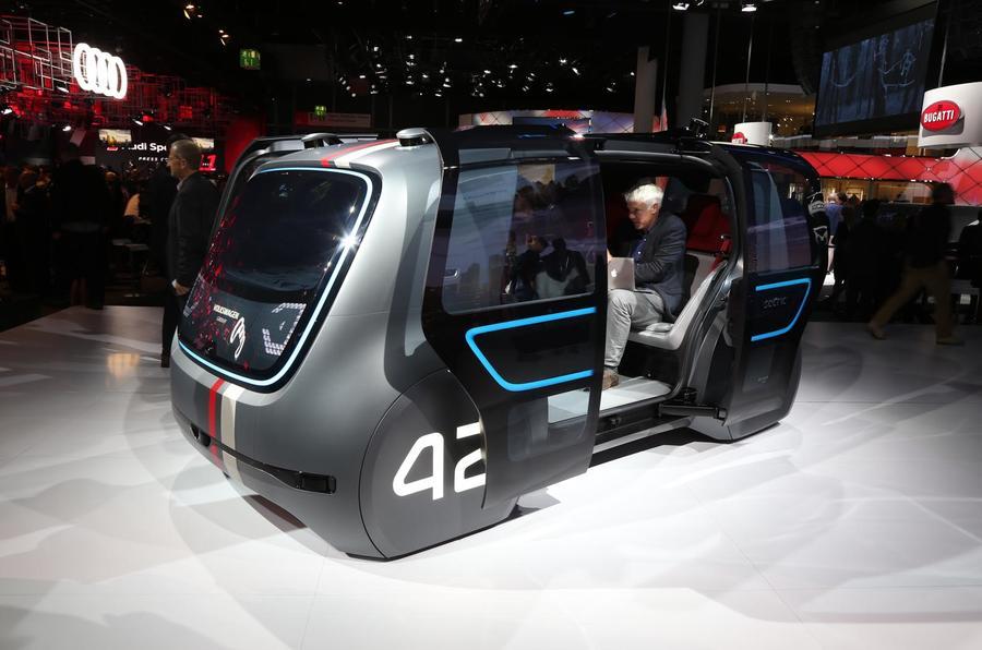 Volkswagen Sedric concept Frankfurt motor show