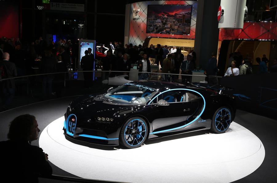 Bugatti Chiron Frankfurt motor show