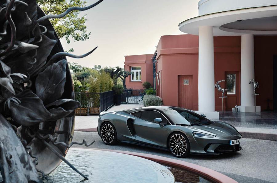 McLaren GT static