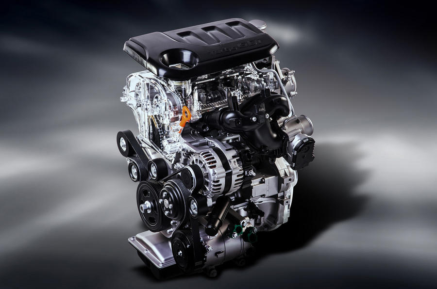 The new 1.0-litre three-cylinder engine has a power output of 118bhp