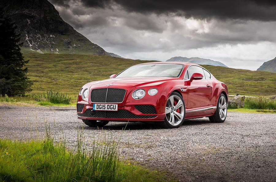 4 star Bentley Continental GT Speed