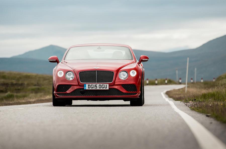 206mph Bentley Continental Speed GT
