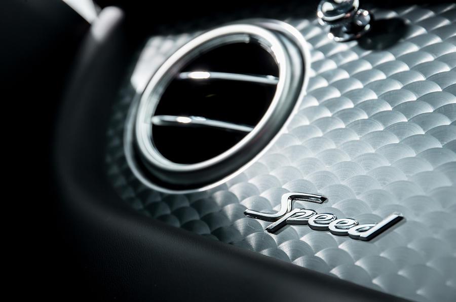 Bentley Continental GT Speed badging