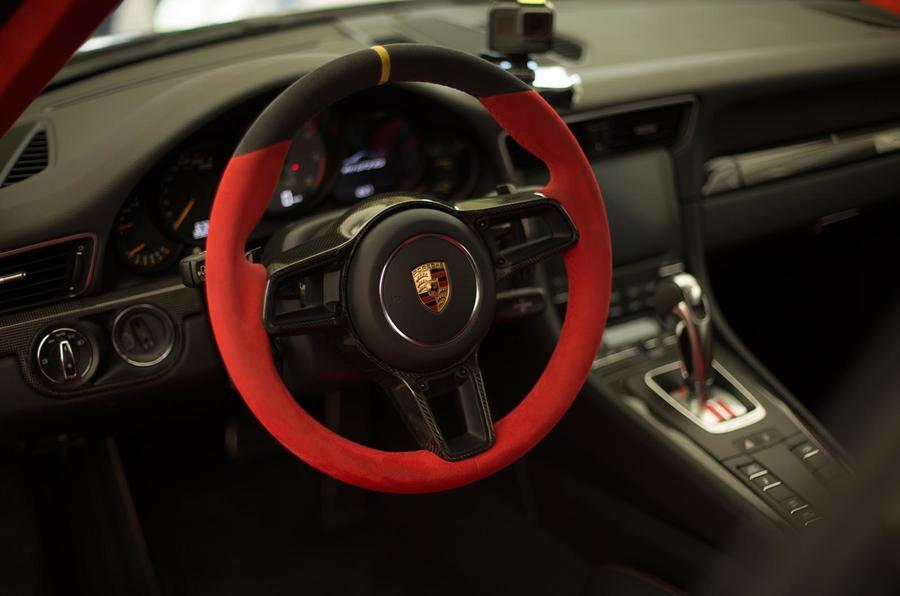 hardcore porsche 911 gt2 rs makes goodwood debut with launch video autocar. Black Bedroom Furniture Sets. Home Design Ideas