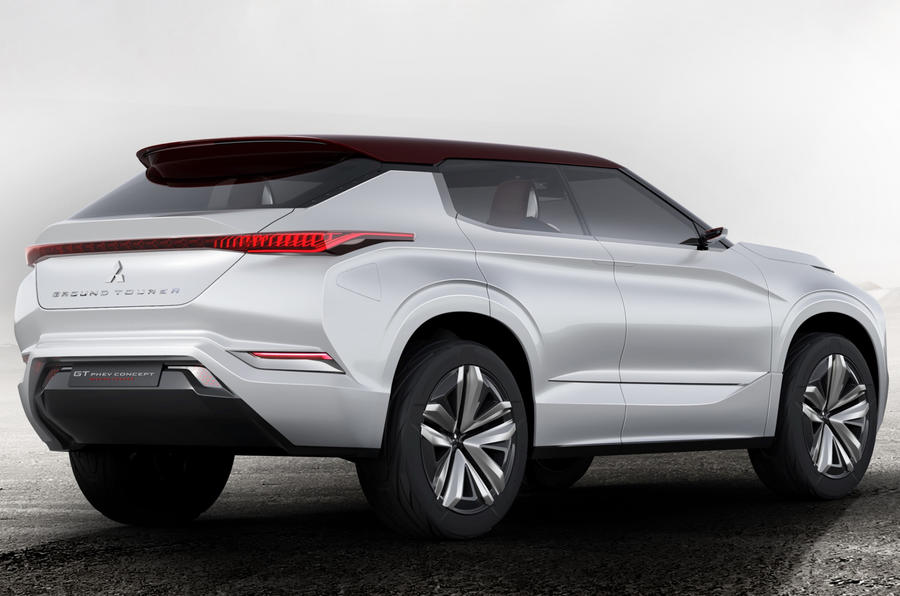 Mitsubishi GT PHEV concept revealed ahead of Paris motor show