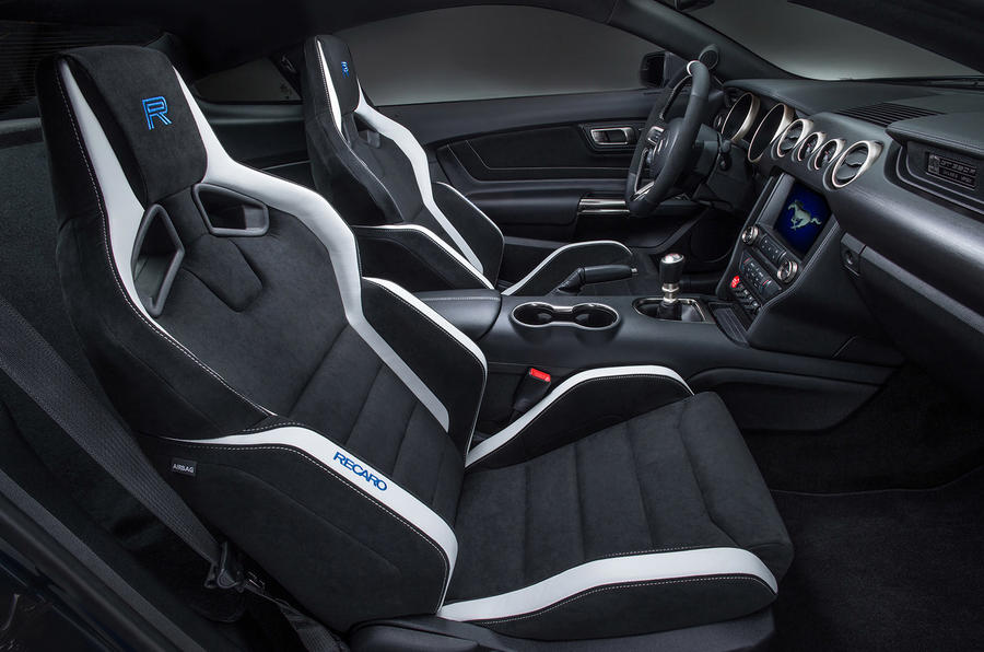 Ford Shelby GT350R Mustang interior