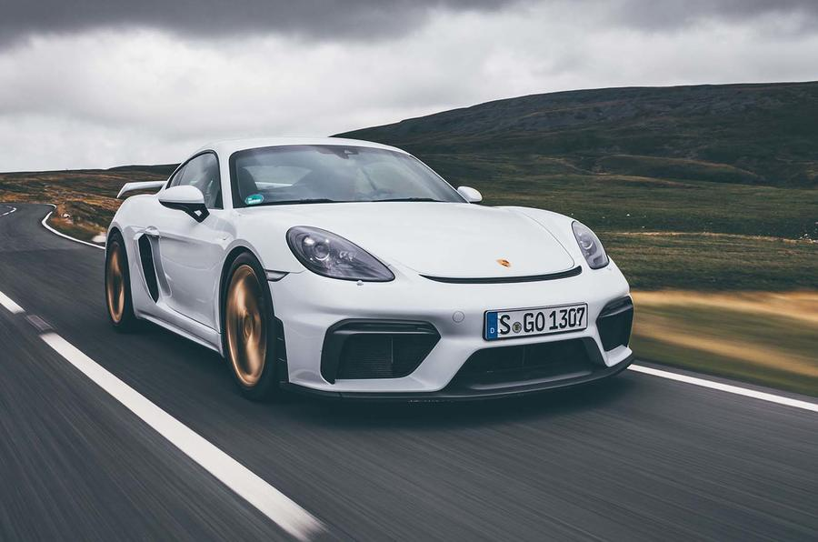 2019 Porsche 718 Cayman GT4 UK review - front