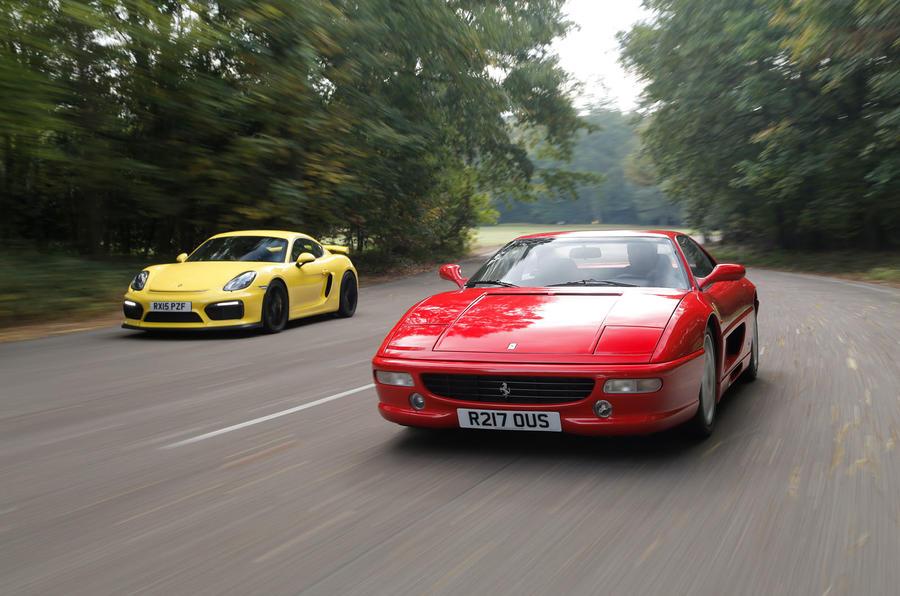 Honda Nsx Vs Ferrari 355