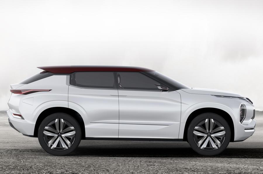 Mitsubishi GT PHEV concept revealed ahead of Paris motor show