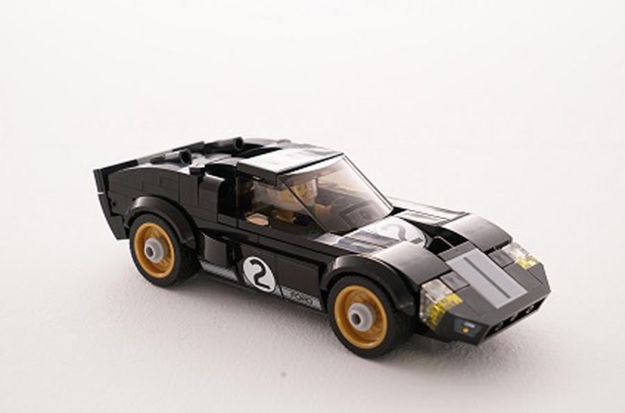 Lego models of Ford GT and GT40 Le Mans winners revealed | Autocar