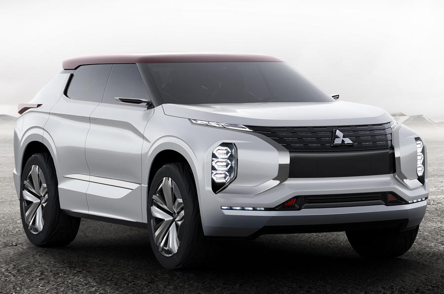 Mitsubishi GT-PHEV Concept - luxury SUV for Paris