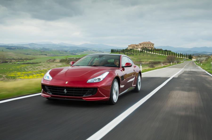 Ferrari GTC4 Lusso front quarter