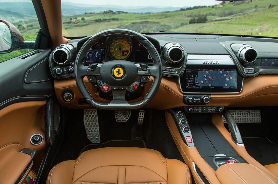Tesla Car Interior >> Ferrari GTC4 Lusso T 2017 review Autocar