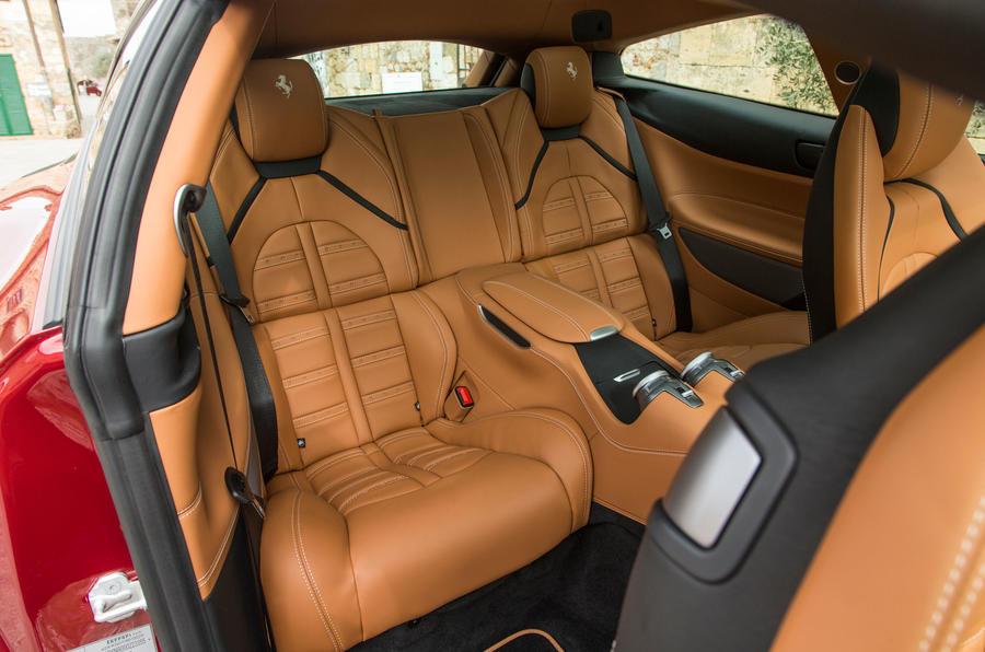 Ferrari GTC4 Lusso rear seats