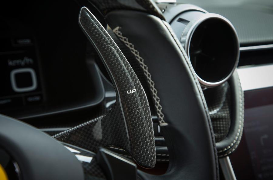 Ferrari GTC4 Lusso carbonfibre paddle shifters