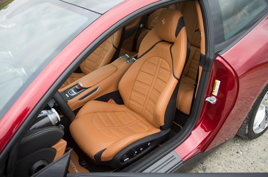 Ferrari GTC4 Lusso front seats