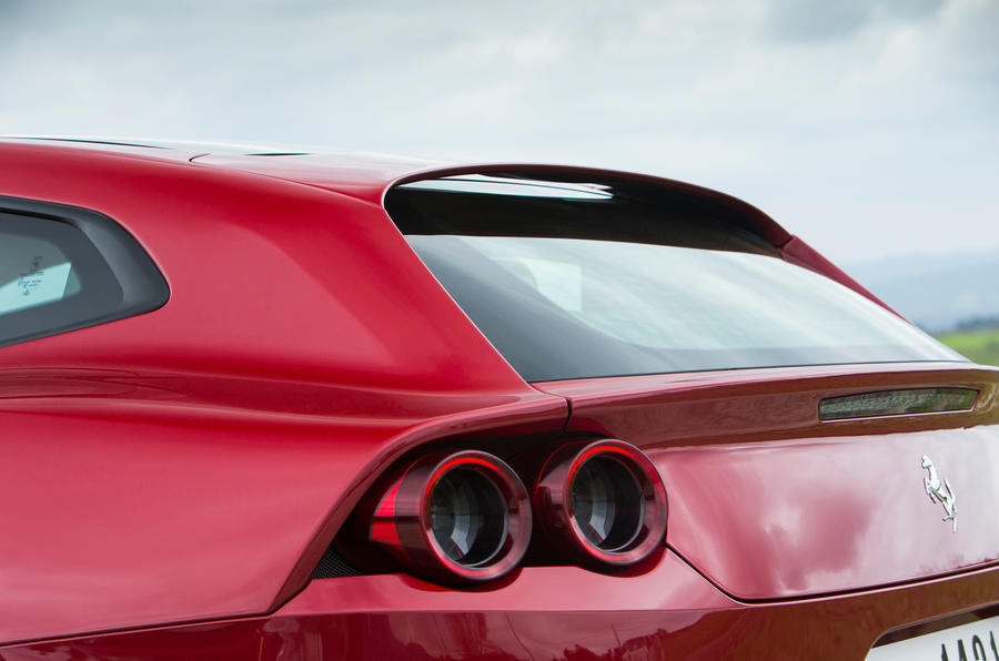 Ferrari GTC4 Lusso rear lights