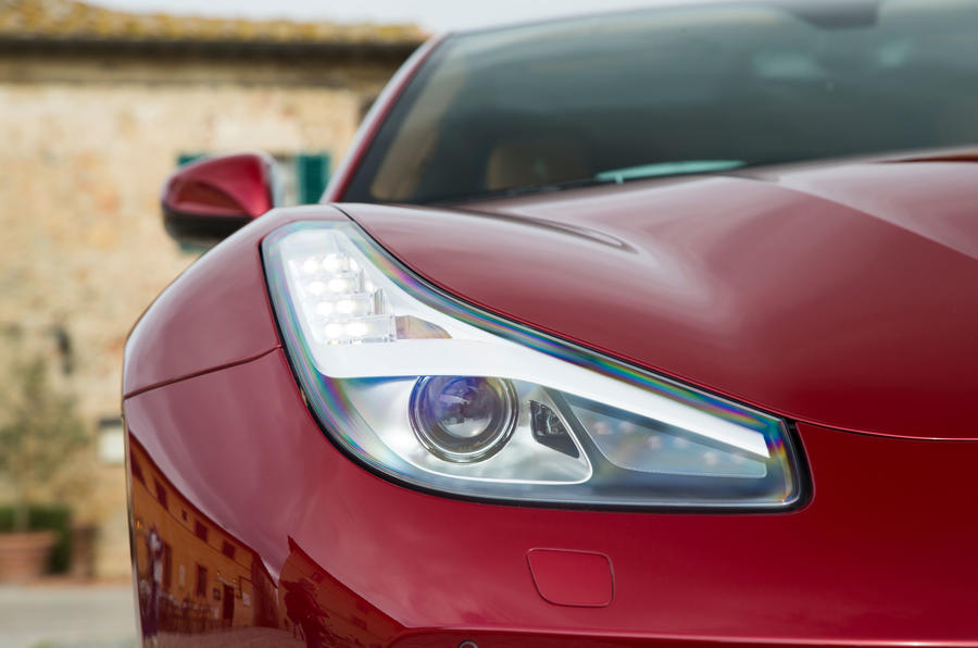 Ferrari GTC4 Lusso headlights
