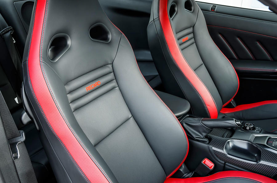 Nissan GT-R Prestige Recaro seats