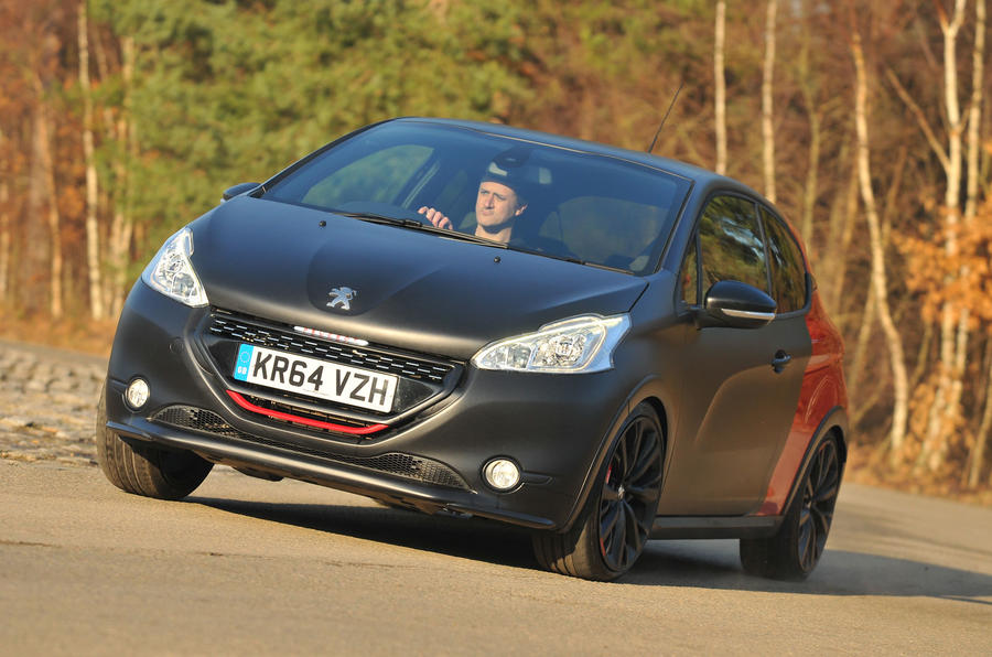 2015 peugeot 208 gti 30th anniversary uk review review autocar. Black Bedroom Furniture Sets. Home Design Ideas
