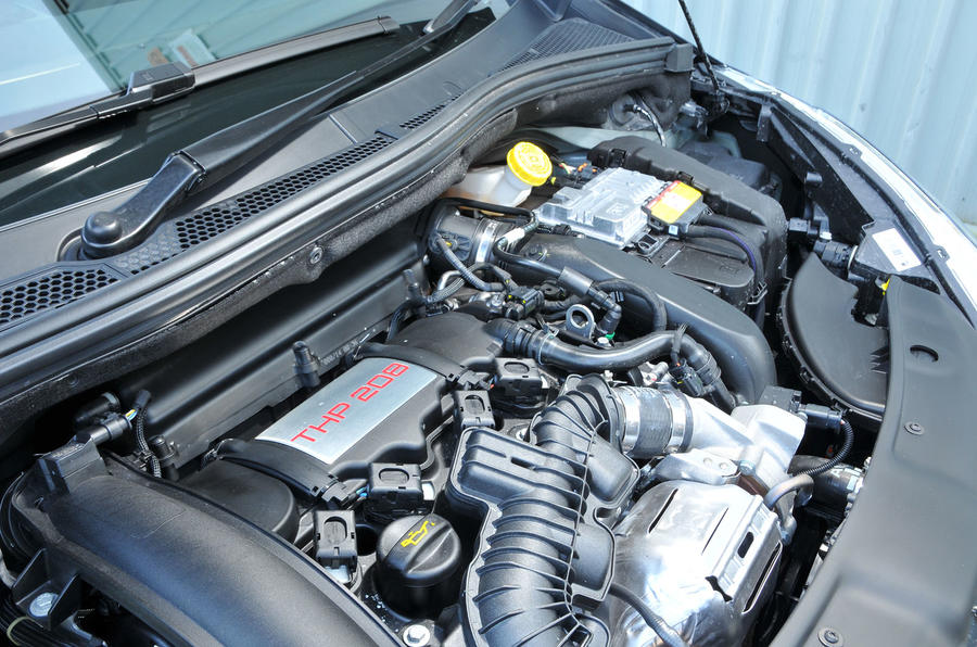 1.6-litre Peugeot 208 GTi 30th Anniversary engine