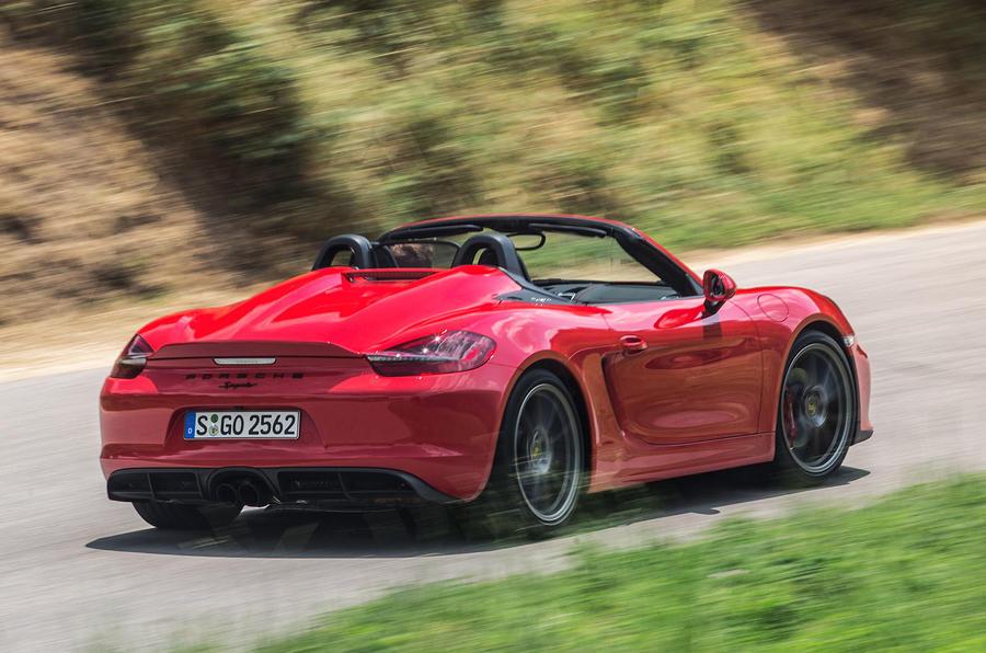2015 Porsche Boxster Spyder review review | Autocar
