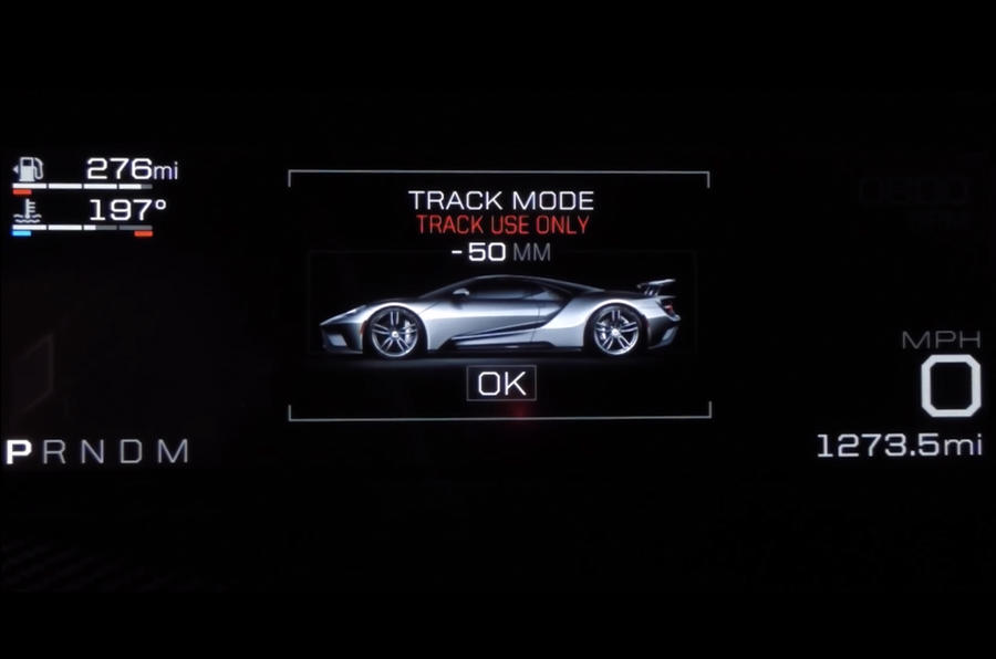 Ford Gt Drive Modes Ford Gt Drive Modes