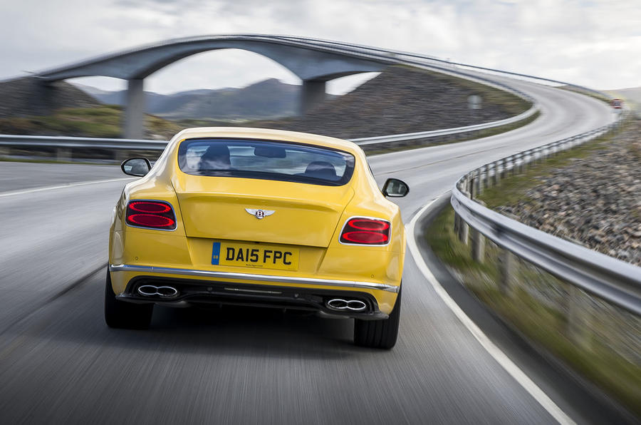 Bentley Continental S V8 rear