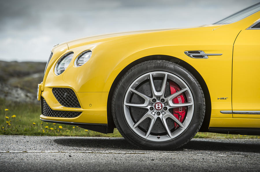 Bentley Continental GT V8 S front