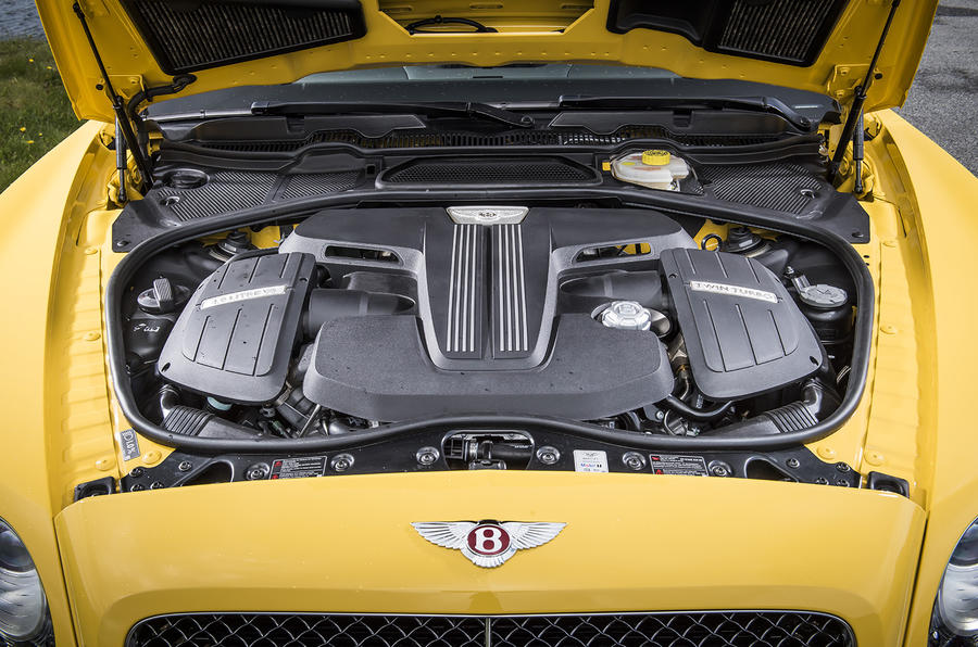 4.0-litre V8 Bentley Continental GT engine