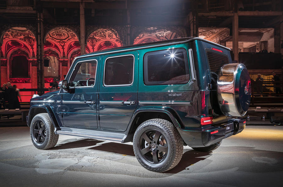 all new mercedes benz g class revealed autocar