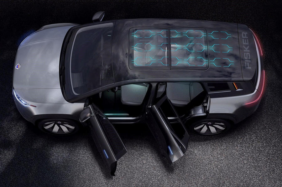 New Fisker Ocean electric SUV to have 480km range