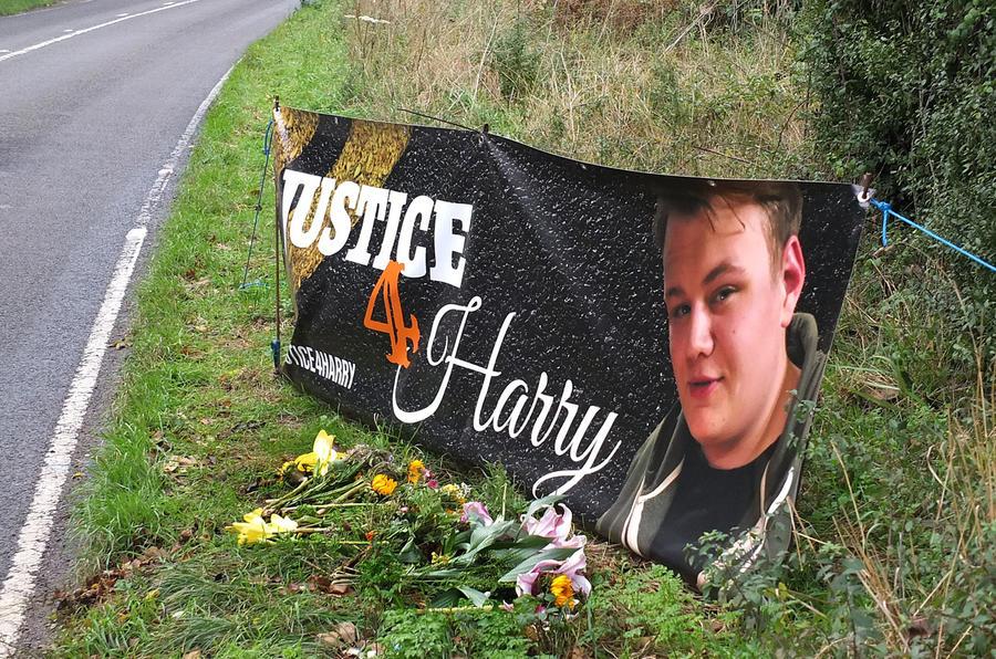 Harry Dunn memorial