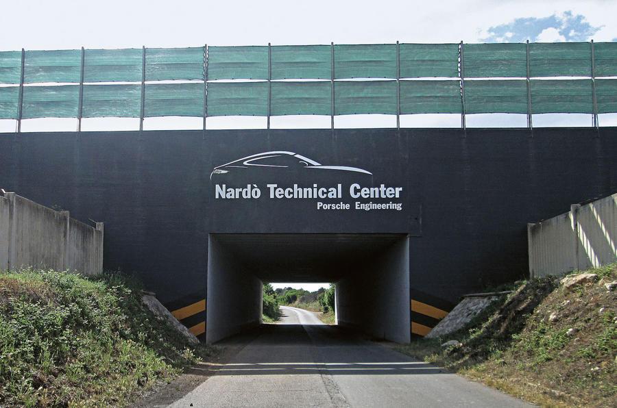 Nardo test track