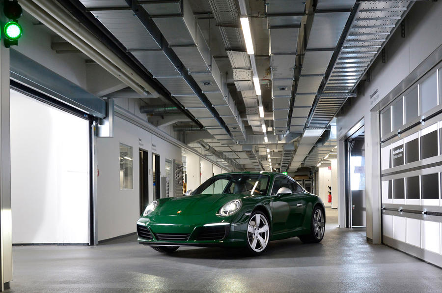 Millionth Porsche 911 Is A One Off Special Edition Autocar