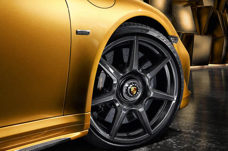 Porsche's braided carbon wheels