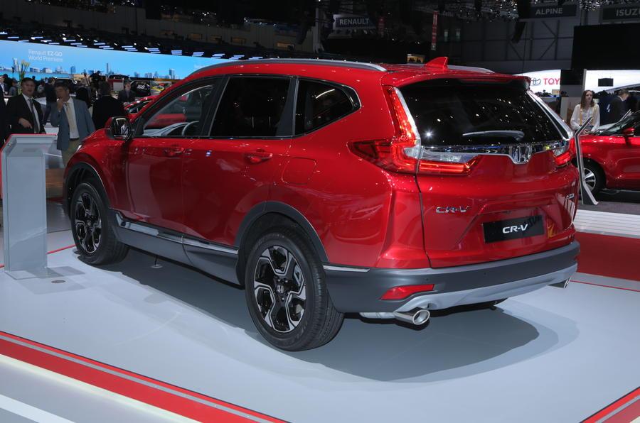 2019 honda cr v hybrid diesel rivalling co2 economy figures released autocar. Black Bedroom Furniture Sets. Home Design Ideas