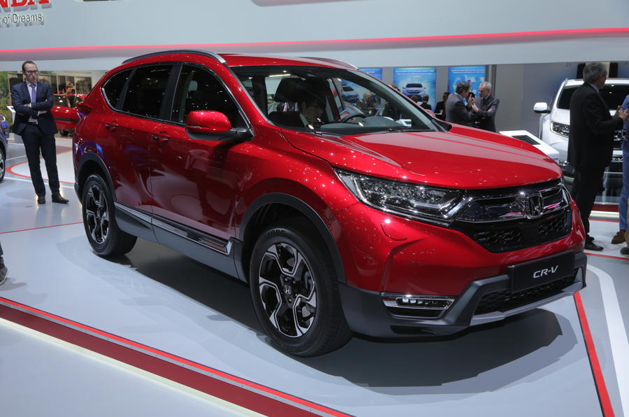 2019 honda cr v hybrid diesel rivalling co2 economy figures released autocar. Black Bedroom Furniture Sets. Home Design Ideas