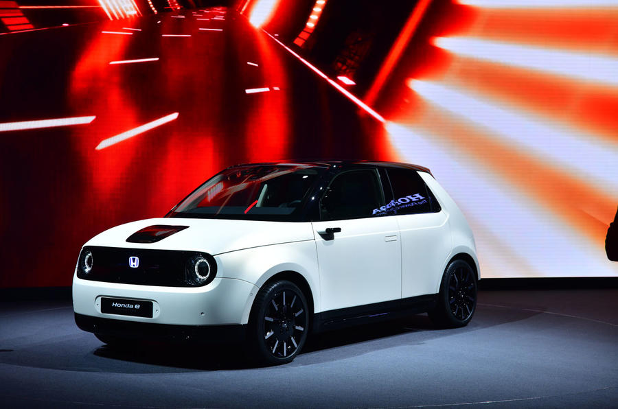 Honda's Urban EV concept gets a real name: 'e'
