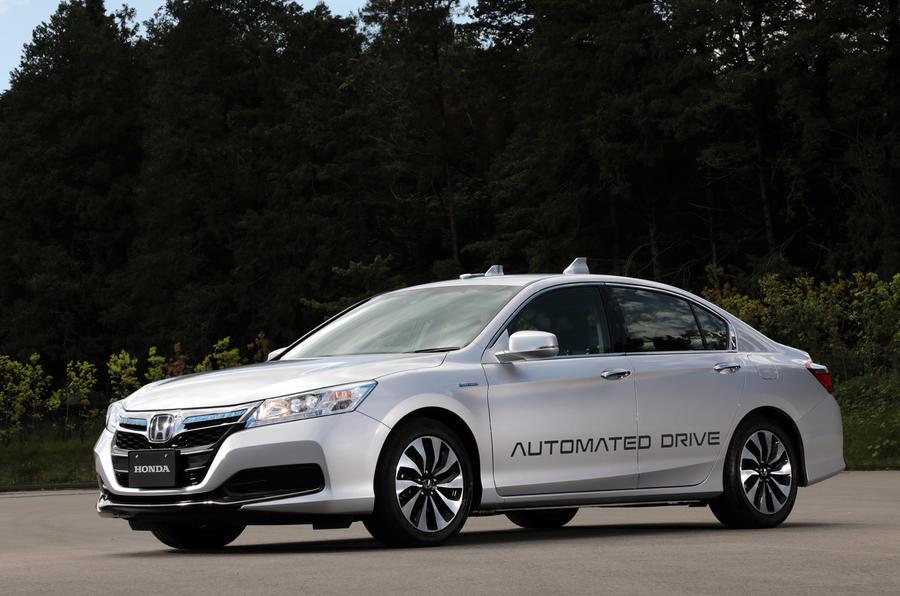 Honda autonomous technoloy