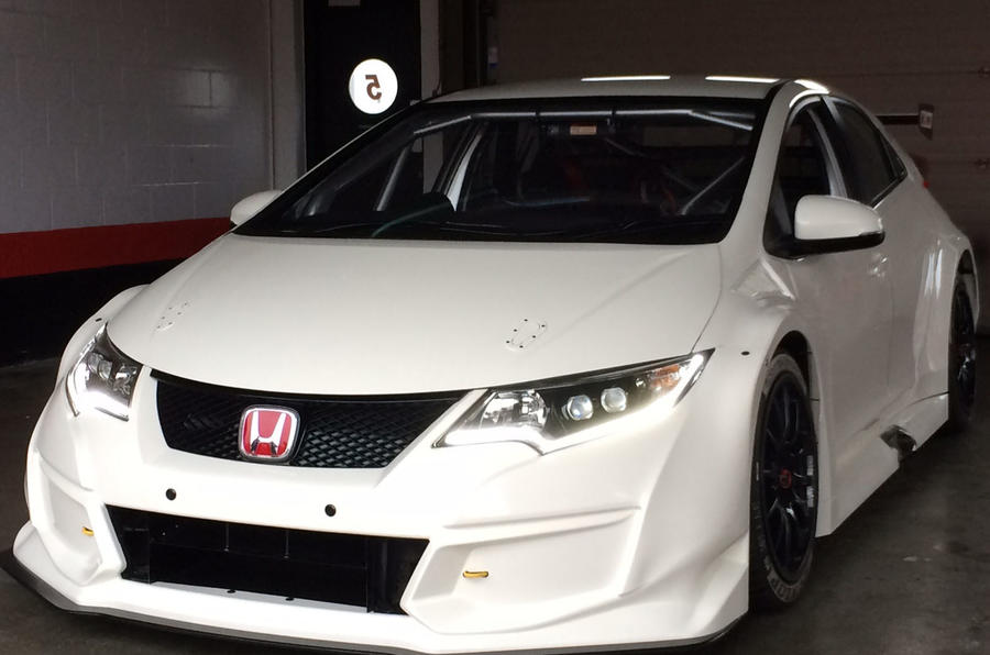 Early Civic Type R body shells were sourced via Swindon