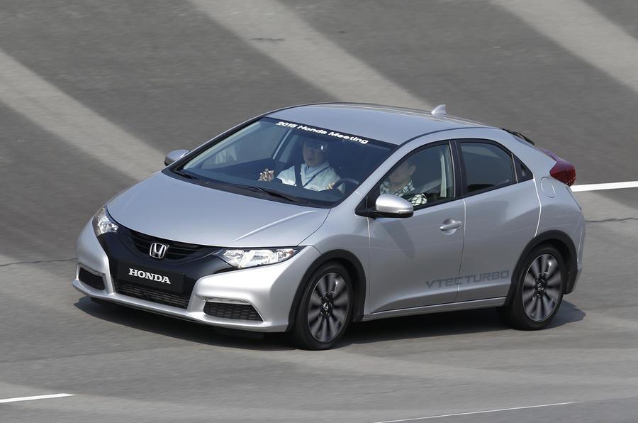 Honda Civic 1.0 prototype