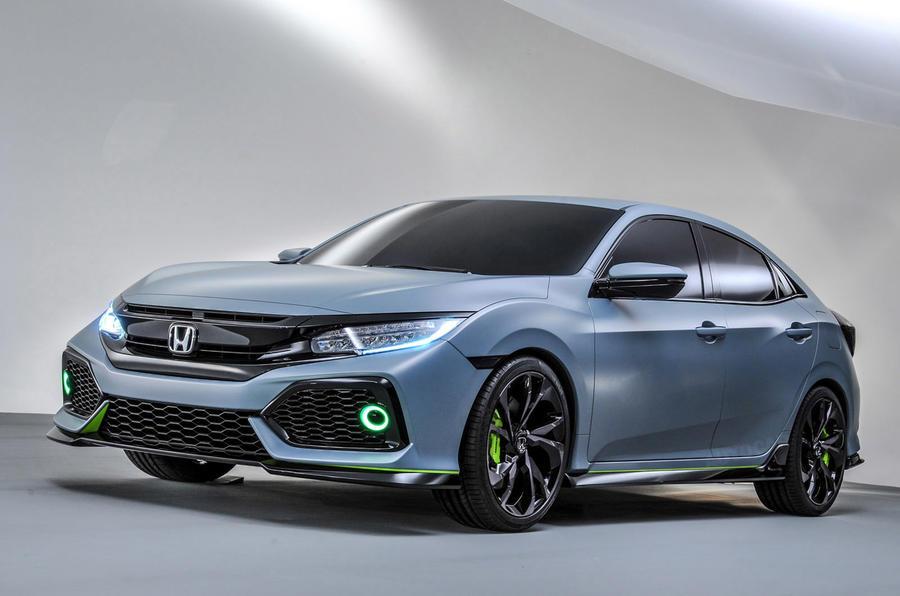 2016 Honda Civic Concept: 2015 New York Auto Show One Take - YouTube