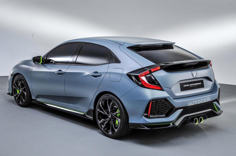 Honda Civic Type-R Concept Flaunts Turbo-Four in Geneva - Motor Trend