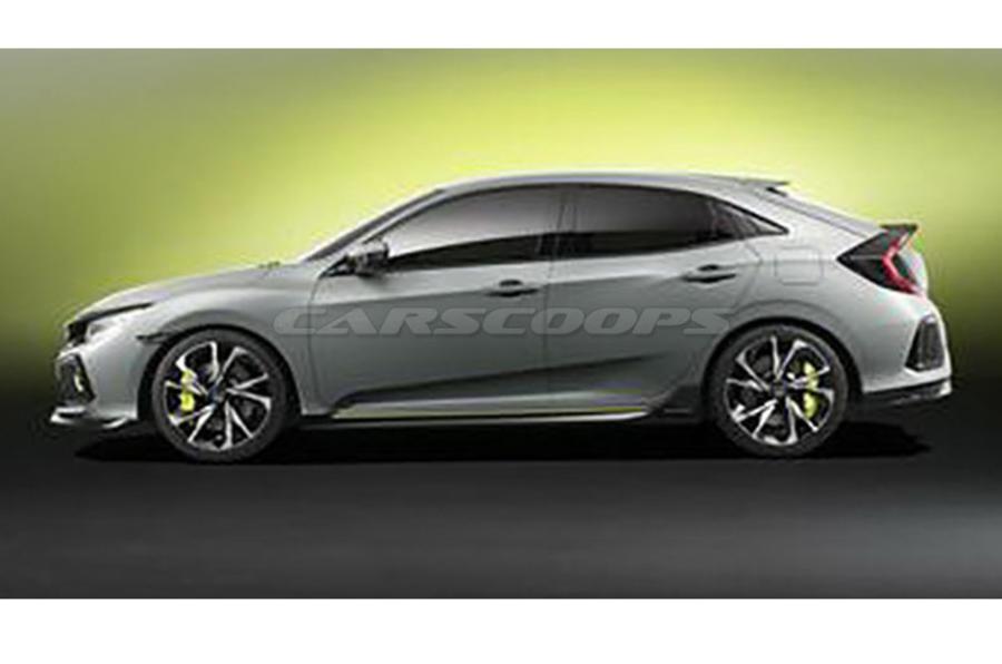 Honda Civic concept Geneva motor show
