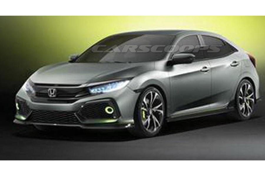 Honda Civic Concept at the New York Auto Show