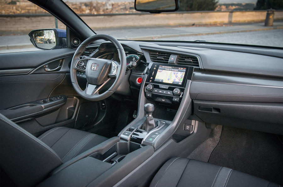 Interior Honda Civic diesel
