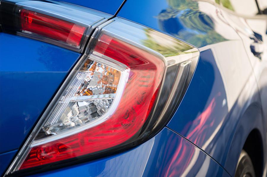 Honda Civic diesel rear light
