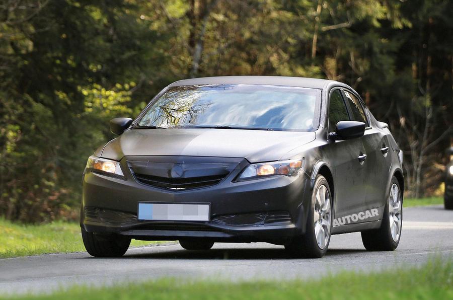 All new Honda Civic spy shots
