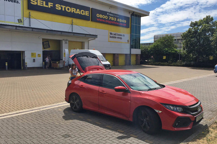Unpacking the Honda Civic